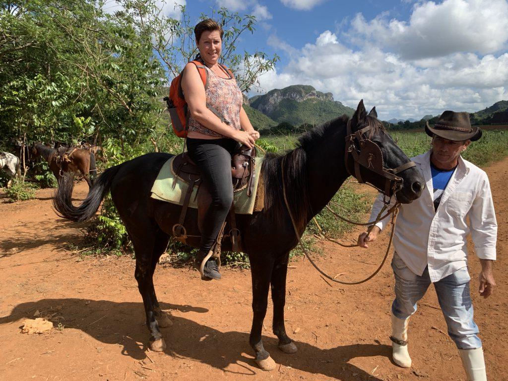 paardrijden in Vinales