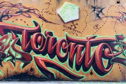Street art in Toronto: Graffiti Alley