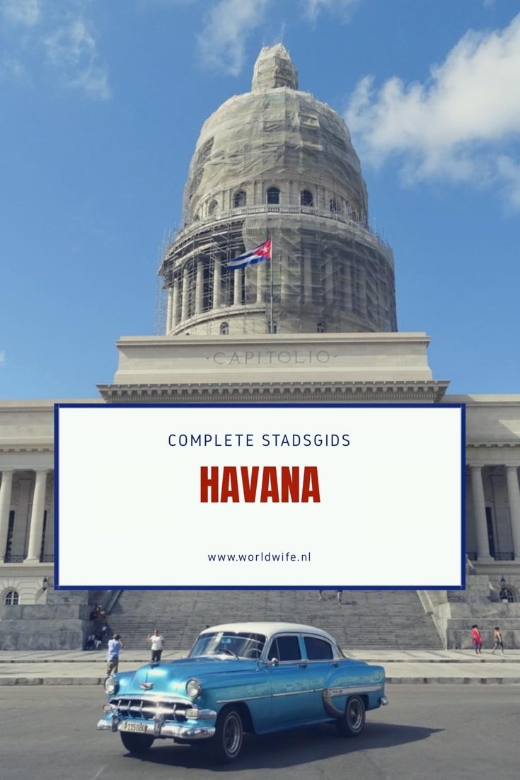 Complete stadsgids voor Havana, Cuba