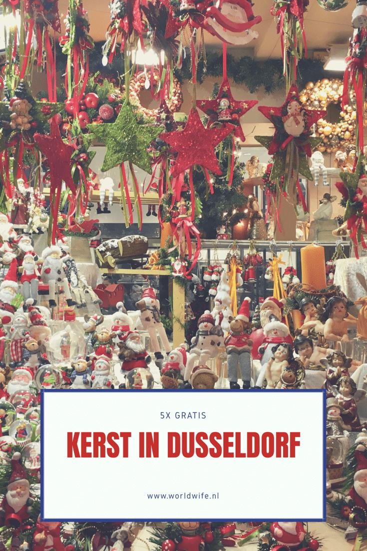 5x gratis kerst in Düsseldorf
