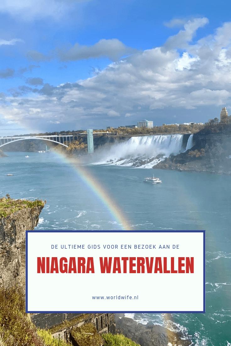 Tips voor een bezoek aan de Niagara watervallen - Worldwife.nl