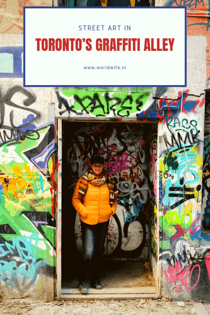 Graffiti Alley in Toronto is the place to be voor street art liefhebbers.