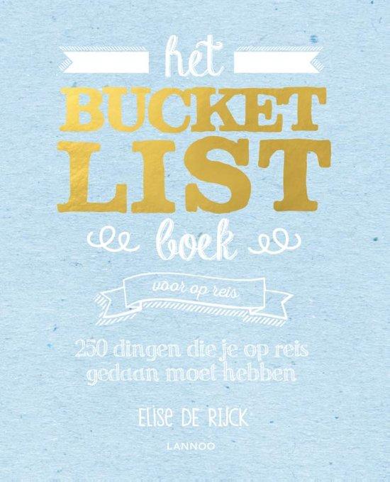 bucketlist boek voor op reis