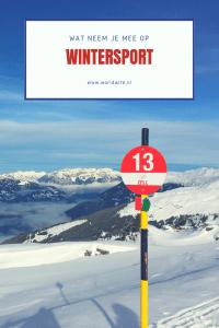 Tips voor iedereen die op wintersport gaat #winter #skien #Oostenrijk #Frankrijk #Tsjechië