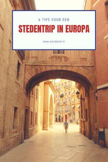 6 tips voor een stedentrip in Europa #stedentrip #citytrip #Europa