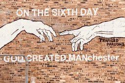 Street art in Manchester