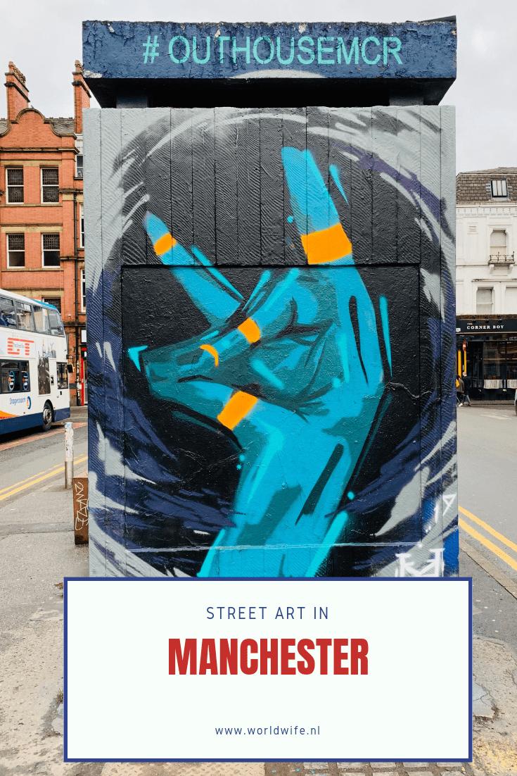 De mooiste street art van Manchester #streetart #manchester