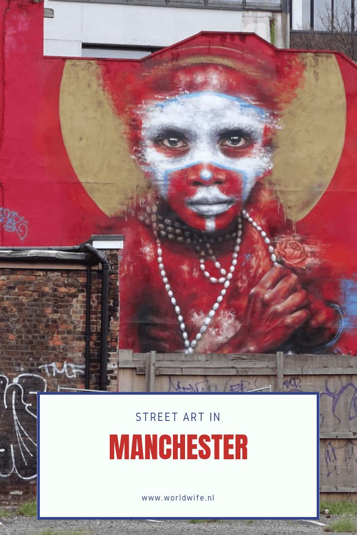 Waar vind je de mooiste street art in Manchester? #streetart #manchester #northernquarter