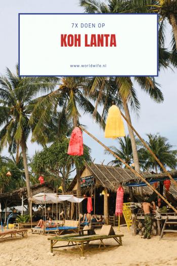 Wat te doen op Koh Lanta: 7 tips #kohlanta #thailand