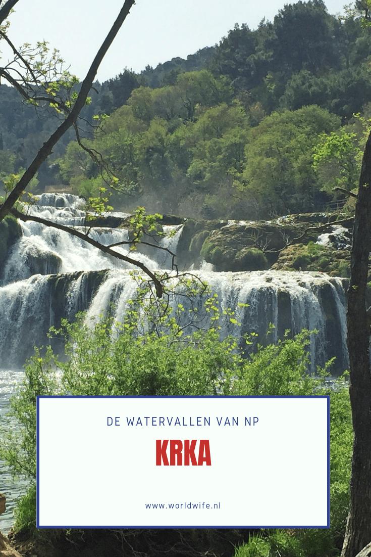 Bewonder de prachtige watervallen van Krka national park in Kroatië