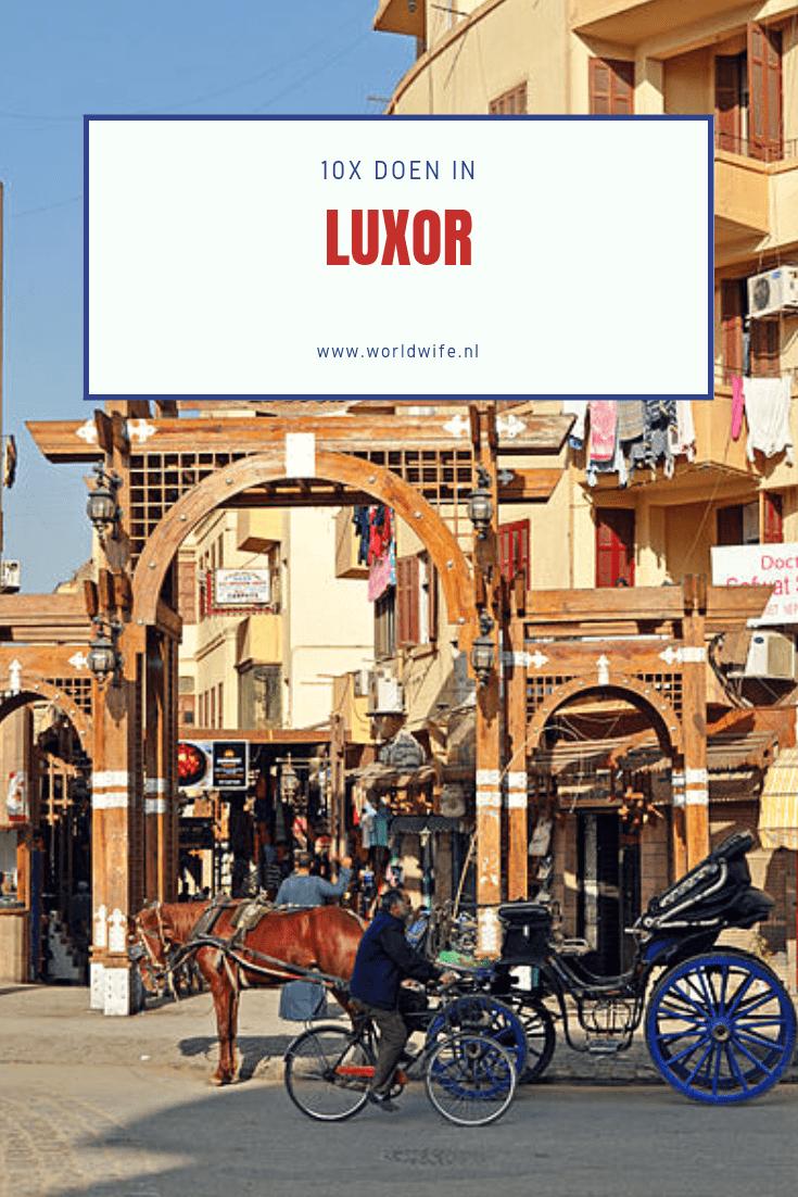 Wat te doen in Luxor, Egypte