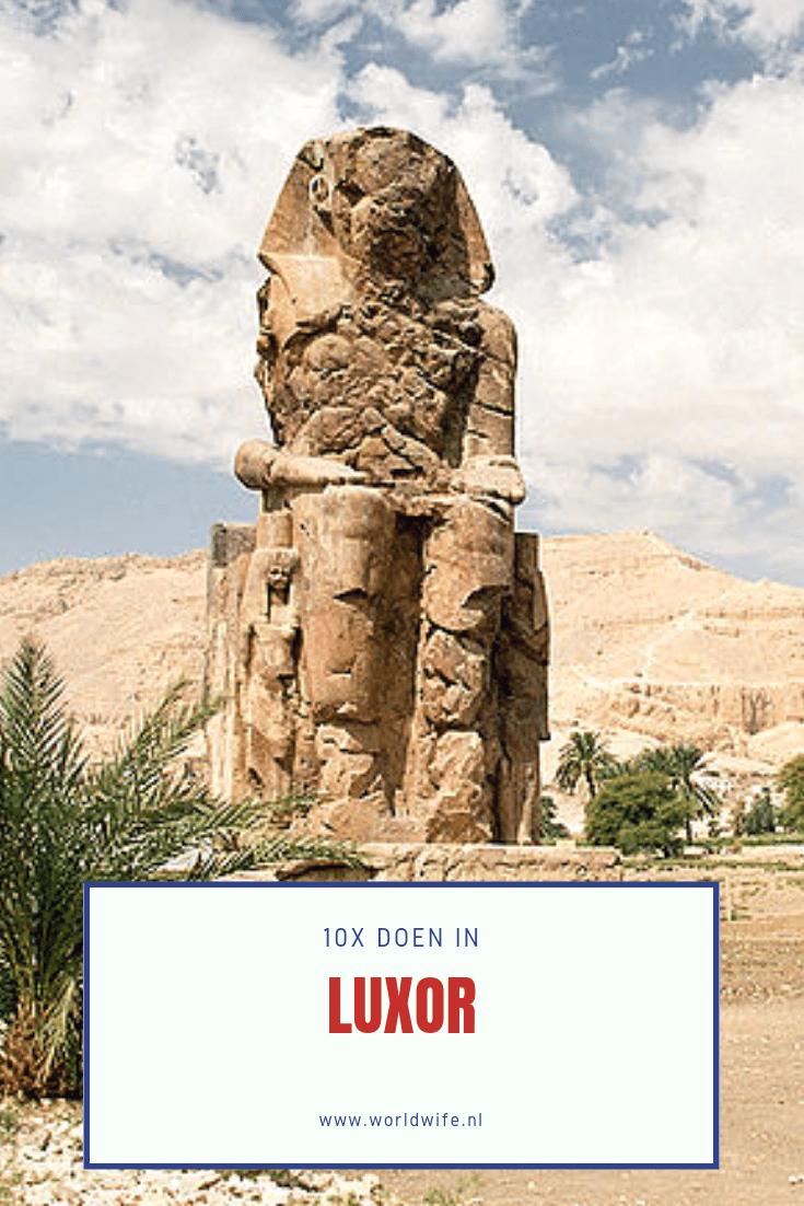 10x doen in Luxor, Egypte