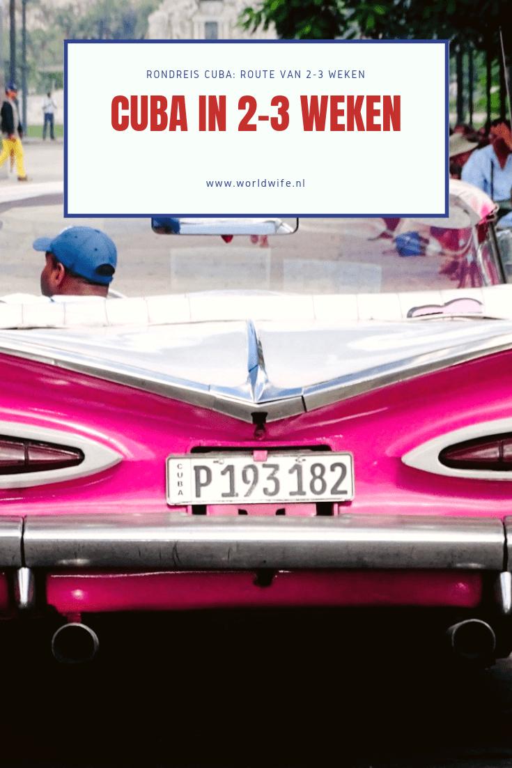Cuba in 2-3 weken: de ideale route
