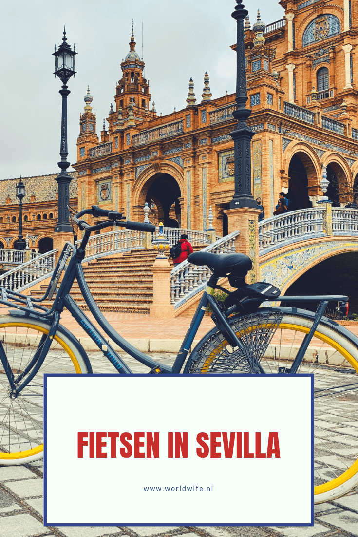Ontdek Sevilla op de fiets tijdens een fietstour door de stad #Sevilla #Andalusie #Spanje