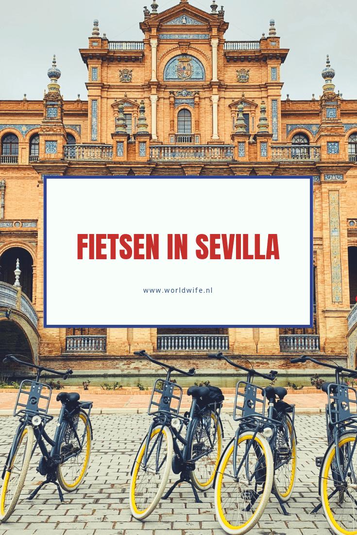 Fietsen in Sevilla is een leuke manier om de stad te ontdekken #Sevilla #Andalusie #Spanje