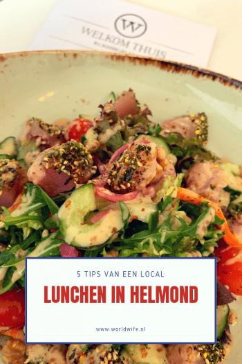 Op zoek naar een toffe lunchplek in Helmond? Ik geef je 5 tips.