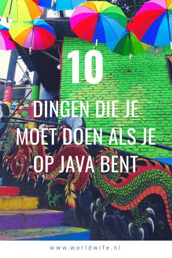 10 dingen die je moet doen als je op Java bent