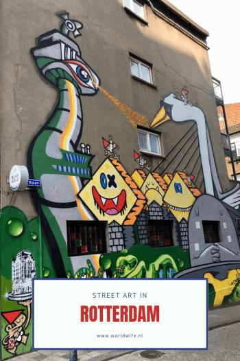 Street art in Rotterdam #streetart #Rotterdam #Nederland
