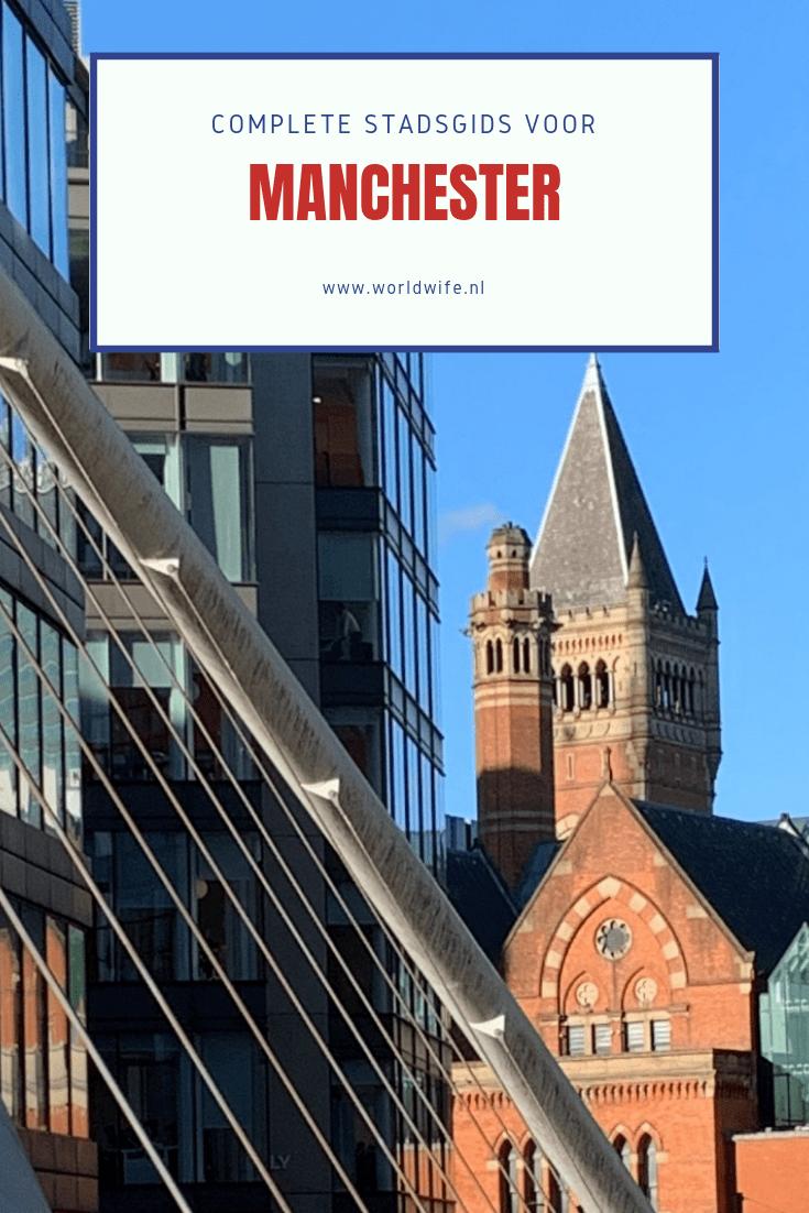 Complete stadsgids voor een stedentrip naar Manchester #tips #Manchester #Engeland