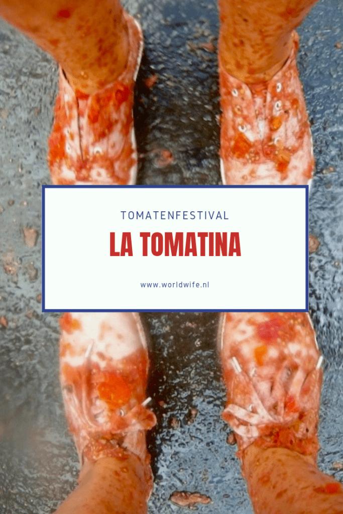 Tomatenfestival la Tomatina #Valencia #Buñol #Spanje