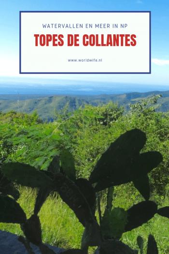 Hike naar watervallen en meer in np Topes de Collantes, Cuba