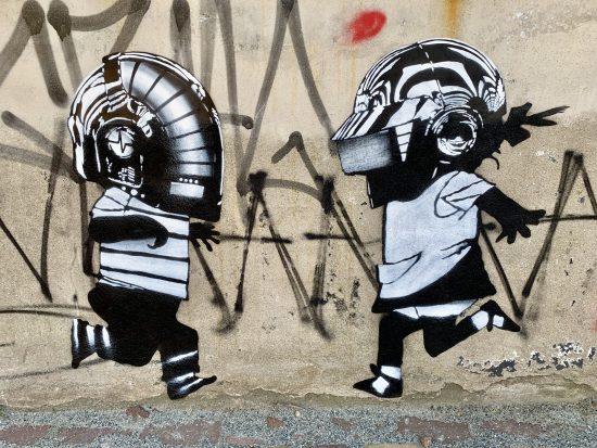 street art Jip en Janneke in Amsterdam