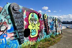 Street art in Amsterdam-Noord