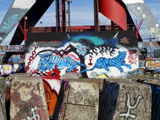 street art NDSM werf