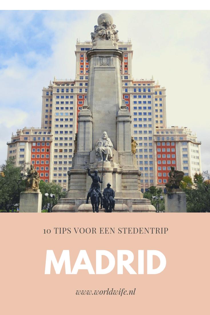 10x doen in Madrid, de hoofdstad van Spanje