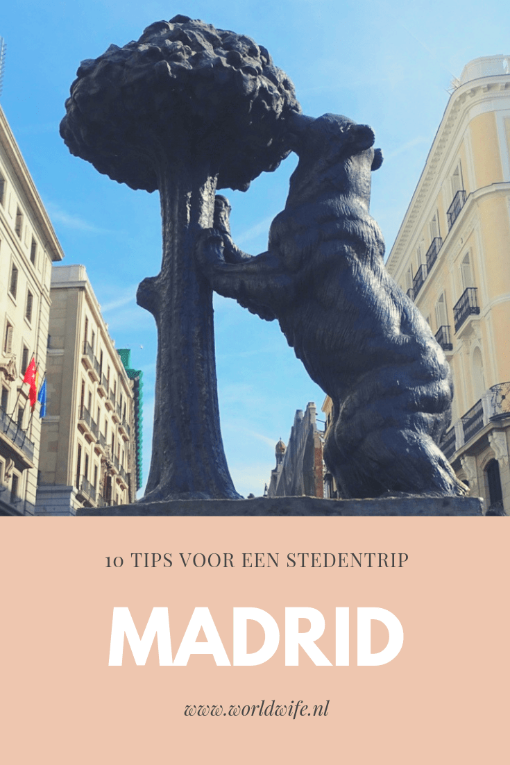 10 tips voor een stedentrip Madrid #travel #Spanje #Madrid