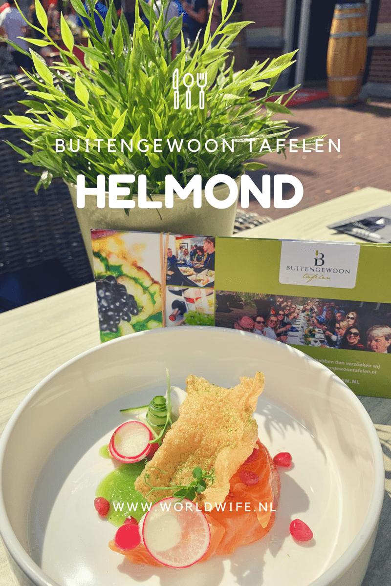 Ga buitengewoon tafelen tijdens Culinair Helmond #Helmond #Nederland #buitengewoontafelen