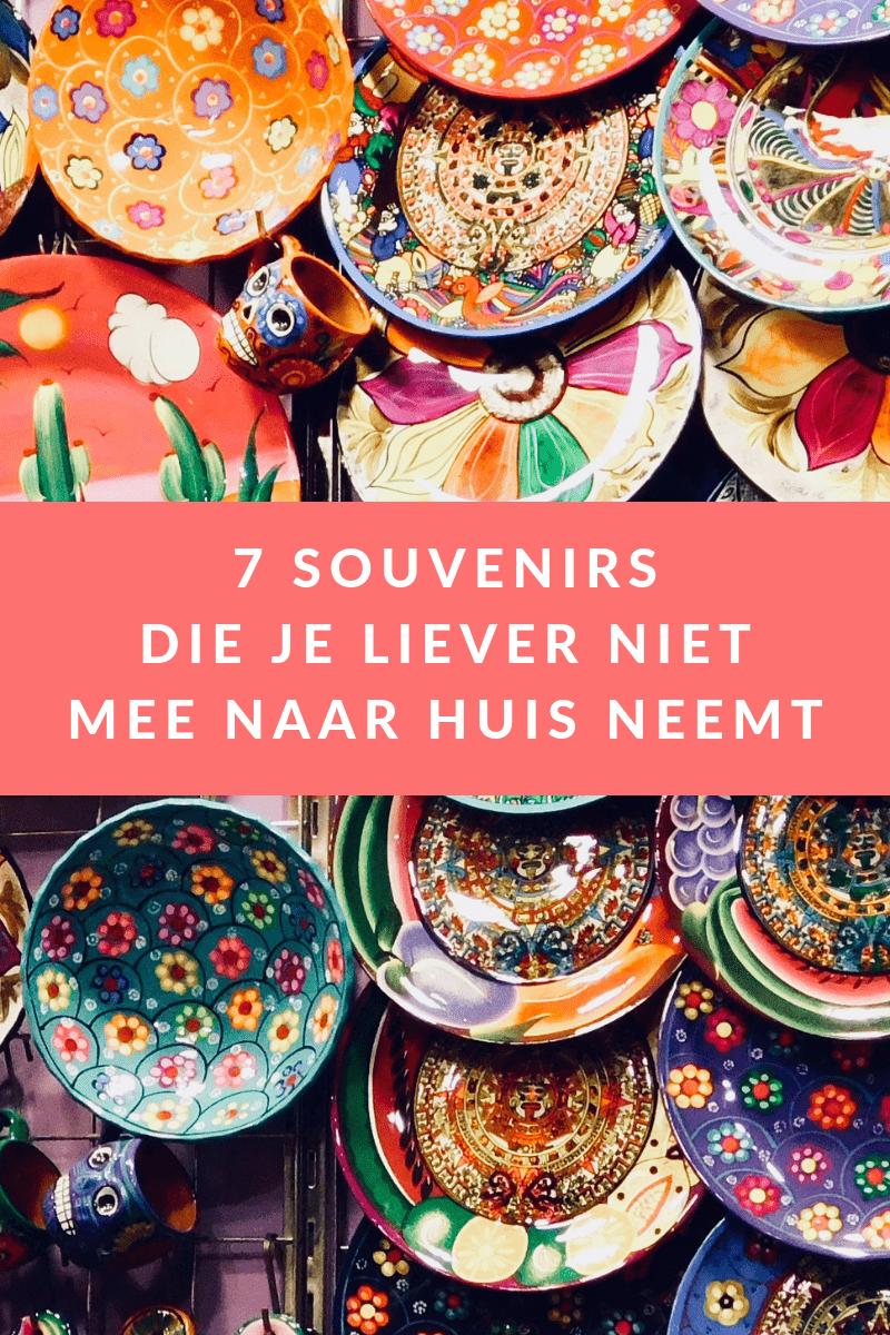 Souvenirs kunnen een mooie herrinnering zijn. Dat het ook anders kan uitpakken lees je in dit blog #souvenirs #vakantie #zomer