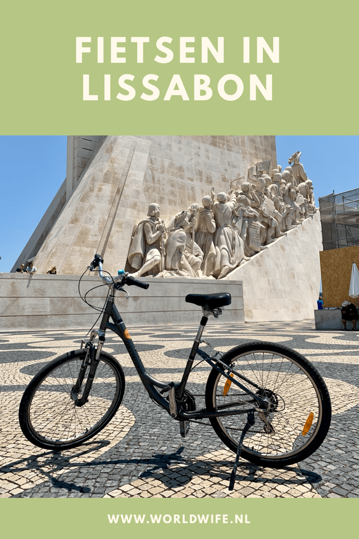 Ontdek Lissabon op de fiets onder begeleiding van een Nederlandse gids #stedentrip #lissabon #portugal