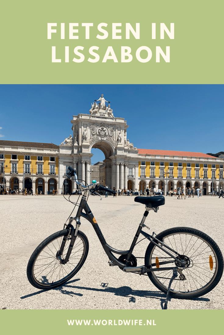 Fietsen in Lissabon. Een ideale manier om een indruk van de stad te krijgen #tips #stedentrip #lissabon