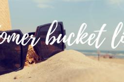 De ultieme bucket list voor deze zomer