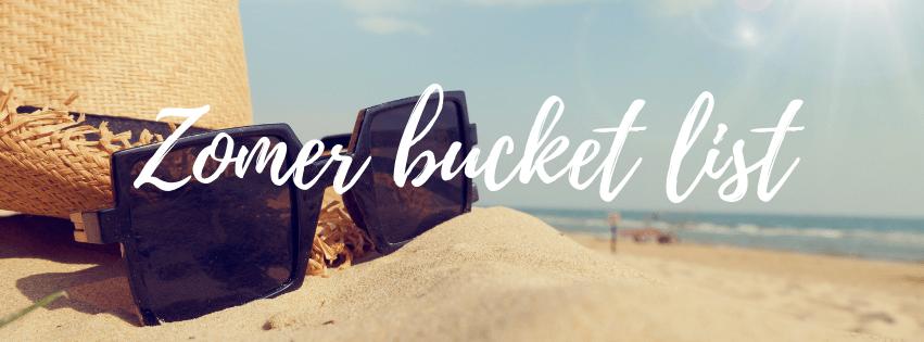 Bucket list voor de zomer