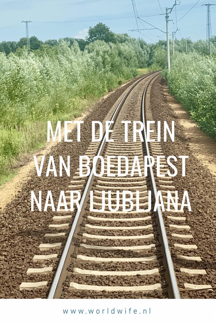 Met de trein van Boedapest naar Ljubljana #Hongarije #Slovenie