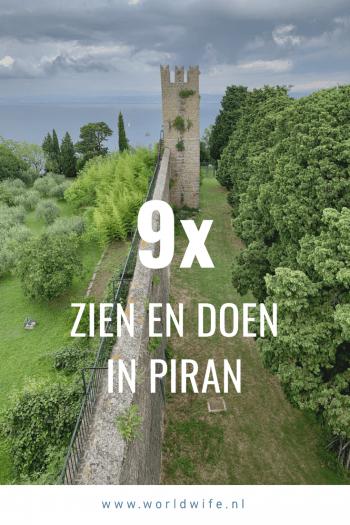 Wat te doen in Piran, Slovenië