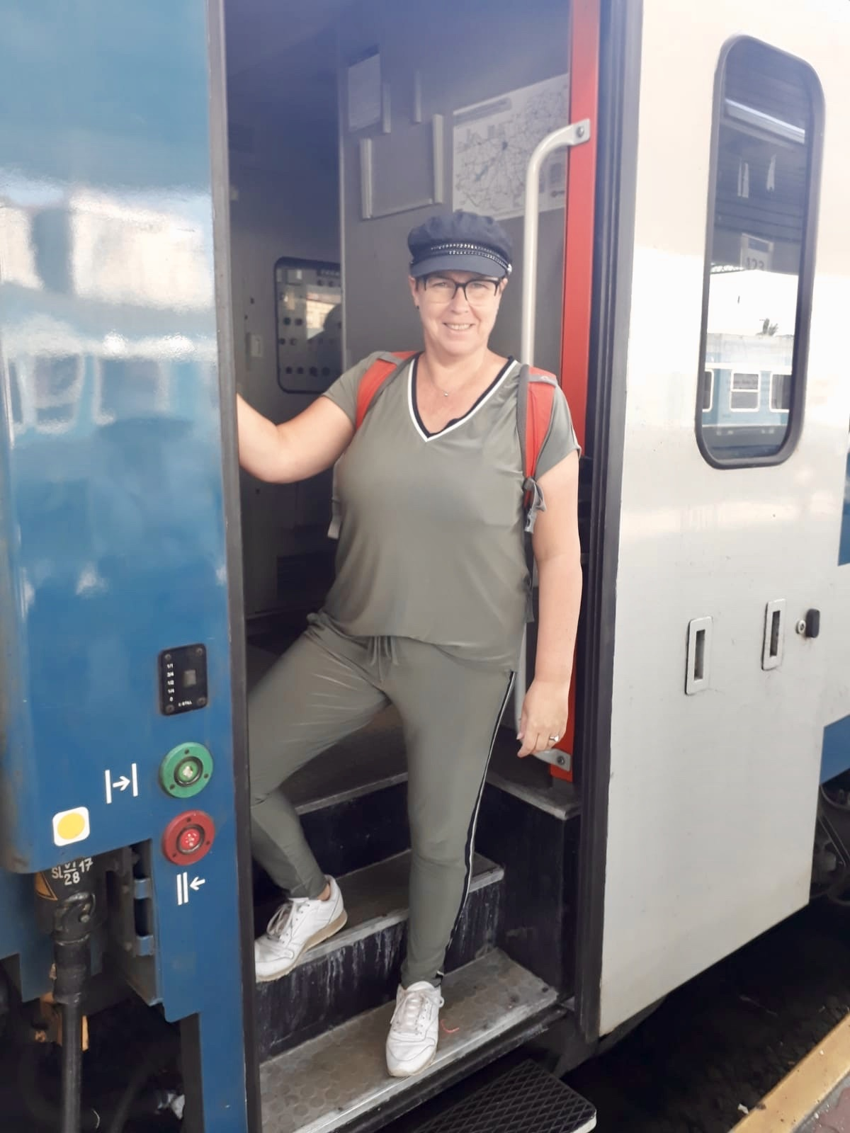 Met de trein van Boedapest naar Ljubljana