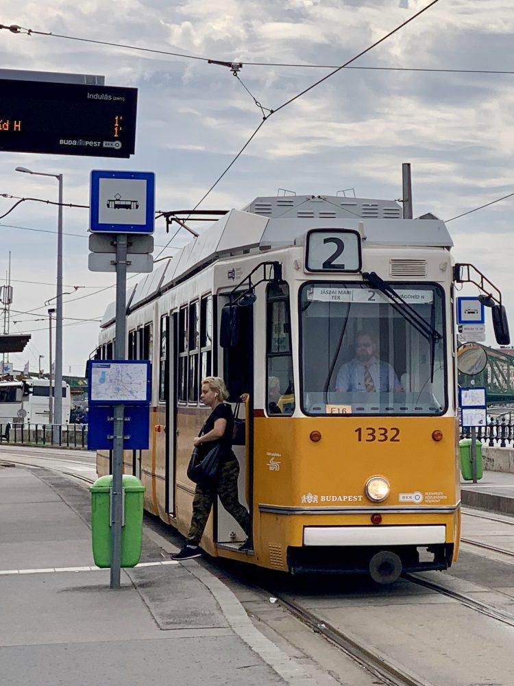 Tram 2 Boedapest
