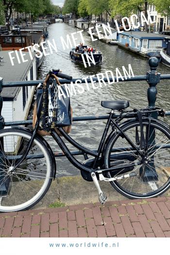 Fietsen met een local in Amsterdam, Nederland