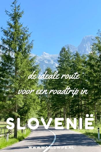 De ideale route voor een roadtrip in Slovenië