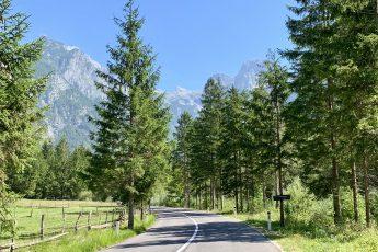 route roadtrip Slovenië