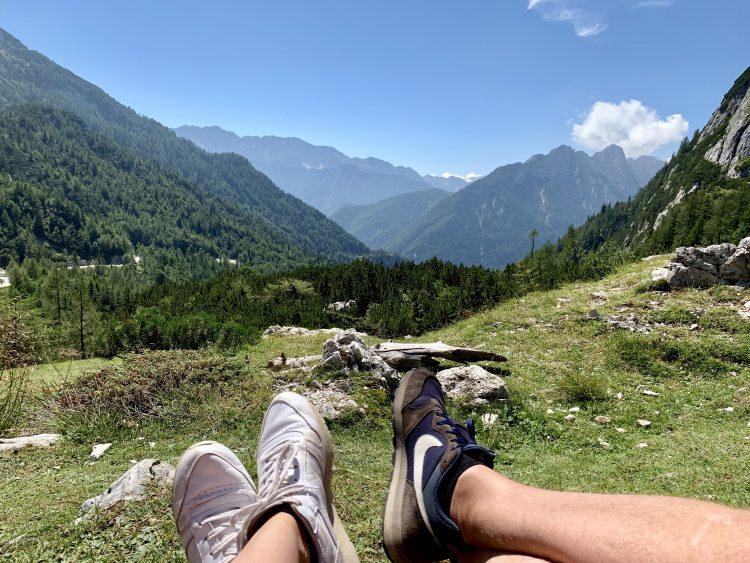 Vrsc pas Slovenië route roadtrip