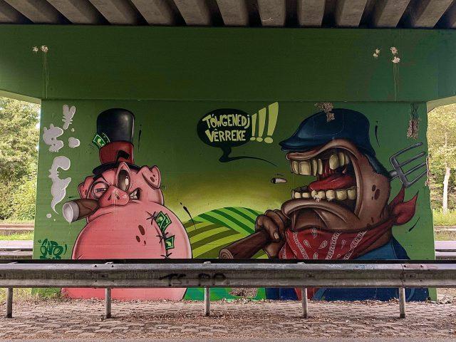 Mural Weert Sapo