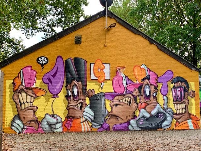 Street art Hangout Weert