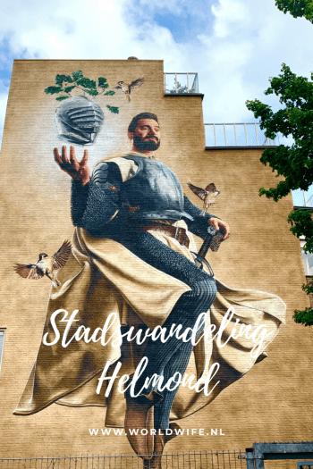 Wat te doen in Helmond? #stedentrip #stadswandeling #streetart #Nederland