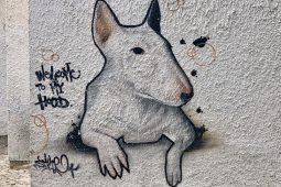 Street art in Cascais, Portugal