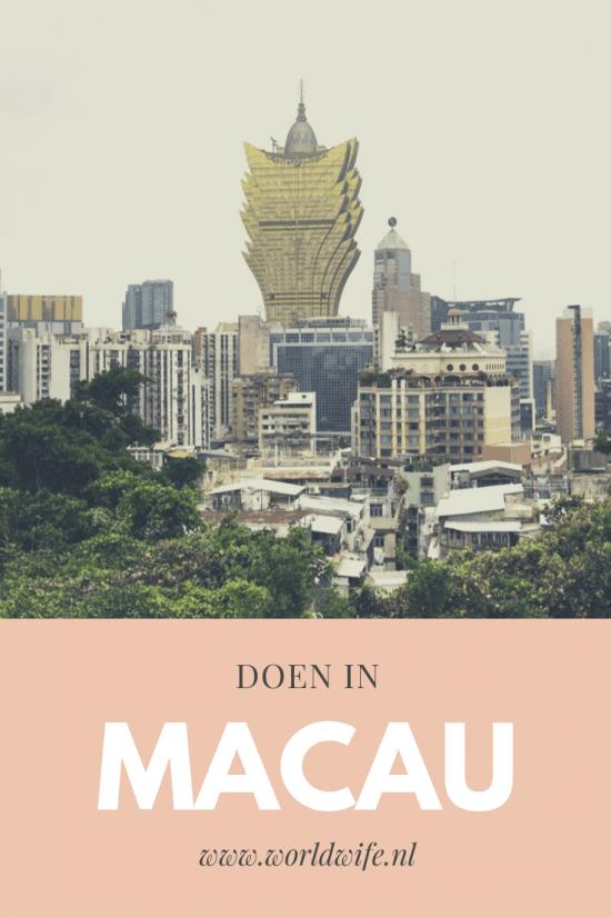 Doen in Macau, China