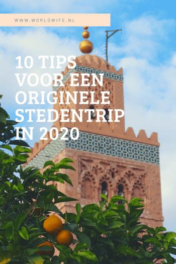 10 tips voor een originele stedentrip in 2020